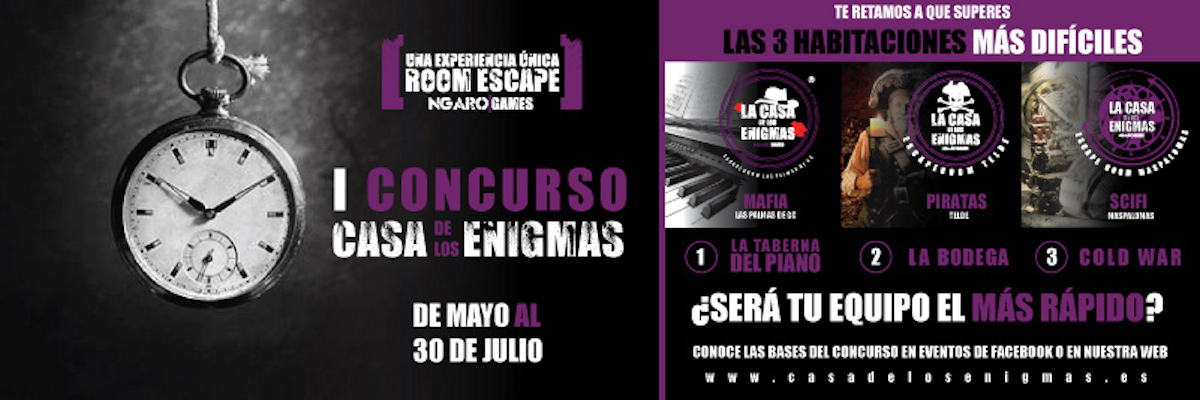 Concurso Room Escape